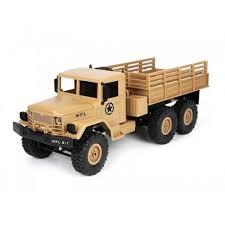 <b>Радиоуправляемый военный грузовик WL</b> Toys Army Truck 6WD ...