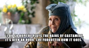What sort of monster would do such a thing? ~Lady Olenna Tyrell to ... via Relatably.com