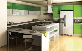 cabinets modern color green style sage