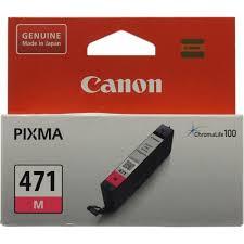 Оригинальный <b>картридж Canon CLI</b>-<b>471M</b> (пурпурный ...