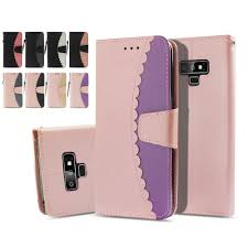<b>LUCKBUY</b> Cute Two Colors Designed PU Flip Leather Case For ...