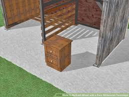 image titled whitewash wood step 4 basics whitewash