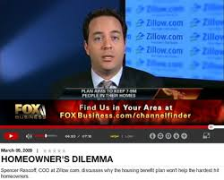 """Homeowner    s Dilemma  Zillow    s Spencer Rascoff Addresses Obama    Zillow COO Spencer Rascoff appeared on FOXBusiness com today  discussing the """"Making Home Affordable"""" plan put in place last week  Click the image to listen"""