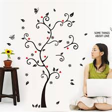 new chic black family photo frame tree butterfly chic family room decorating