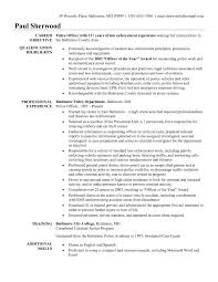 how to write a resume law enforcement professional resume cover how to write a resume law enforcement best police officer resume example livecareer law enforcement