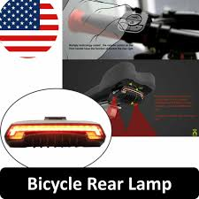 <b>Meilan</b> Smart <b>Bike</b> Tail Light <b>X5</b> USB Rechargeable With Wireless ...