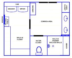 Small Master Bedroom Layout Modern Master Bathroom Floor Plans No Tub Design Ideas Floor