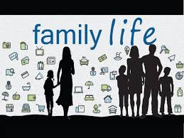 short essay on family life