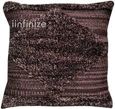 Shaggy Cushion 2 Pcs Hand woven Shaggy Wool ... - Amazon.com