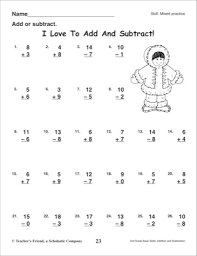 Mixed Addition And Subtraction Worksheets To 18 - 100 horizontal ...math worksheet : mixed addition and subtraction worksheets for 2nd grade 2nd : Mixed Addition And