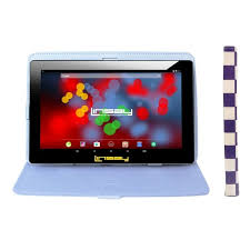 """LINSAY 10.1"""" 1280x800 IPS <b>Tablet</b> Bundle With Purple Square ..."""