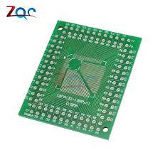 <b>5pcs QFP TQFP</b> LQFP FQFP 32 44 64 80 100 LQF SMD Turn to DIP ...