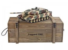 <b>Радиоуправляемый танк Taigen Leopard</b> 2 A6 (Германия) САМО ...