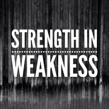 strength in weakness my god advertisements