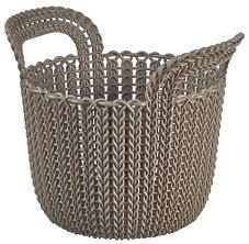 <b>Корзина Curver Knit XS</b>, темно-коричневая - купить по цене 359 ...