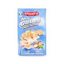 <b>Вафли</b> с молочно-ванильным кремом, миникубики, <b>BALOCCO</b> ...