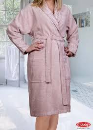 Банный халат <b>eliza</b> цвет: пудра от hobby home collection из ...