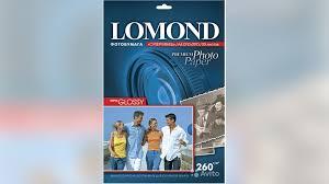 <b>Фотобумага Lomond 100x150mm</b> Суперглянцевая 260 г/м купить ...