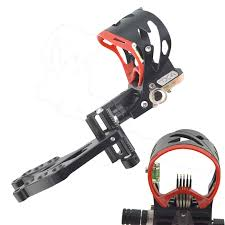 <b>1PC Archery Compound Bow</b> Sight 5 Pin Adjustable Sight Bubble ...