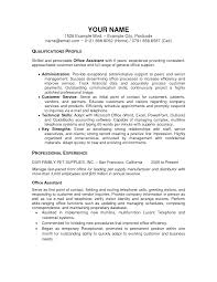 resume examples administrative assistant resumes examples medical office administration sample resume