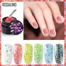 ROSALIND Гель-<b>лак для ногтей</b> Полупостоянный дизайн ногтей ...