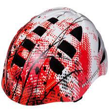 Купить <b>шлем</b> детский <b>Runbike</b> (красно-белый, прямоугольные ...