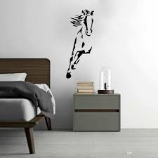 Small Picture Wild Running Horse Art Vinyl Wall Sticker Animal Creative Wall