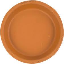<b>Поддон</b> для <b>горшка</b>, 13 см, <b>керамика</b>, цвет терракотовый в ...