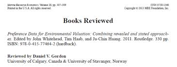 environmental economics book reviews bookreview