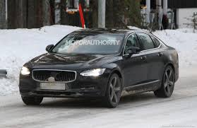 2021 <b>Volvo S90</b> spy shots