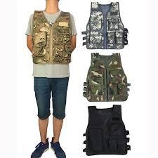 <b>HYBON</b> Security <b>Outdoor</b> Adult 55cm Hunting Tactical Vest CS ...