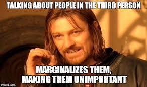THE WORST KIND OF DISCRIMINATION - Imgflip via Relatably.com