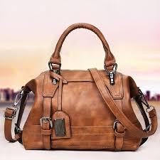<b>2019</b> Fashion PU Leather <b>Women Messenger Bags</b> Ladies Big ...