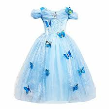 <b>Cinderella Princess</b>#2 Butterfly Party Dress kids Costume Dress for ...