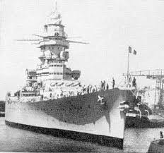 French battleship Strasbourg