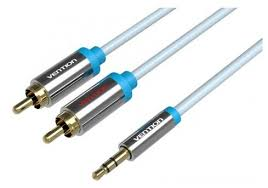 <b>Кабель Vention Jack 3.5 mm</b> - 2xRCA (P550AC-S) — купить по ...