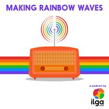 Making rainbow waves