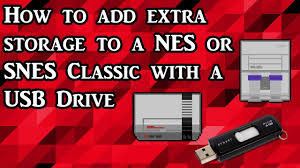 How to add storage to your <b>NES</b> and <b>SNES Classic</b> with a <b>USB</b> drive ...