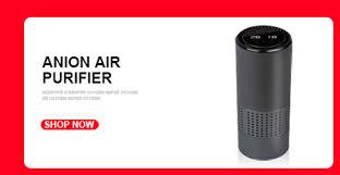 <b>GIAHOL</b> Mini <b>Car Air</b> Purifier Portable Negative Ion Purifiers USB <b>Air</b> ...