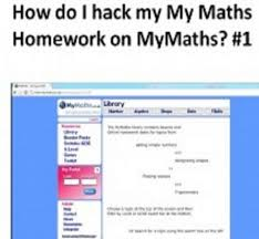 How do I hack my My Maths Homework on MyMaths    Magical     Magical Maths