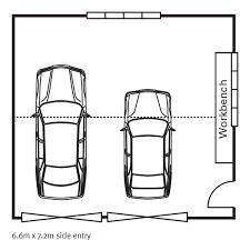 standard car garage size single xmn side entryjpg xmn side entry xmn side entryjpg