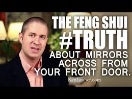 mirror facing front door in feng shui the truth myth explained bad feng shui mirror