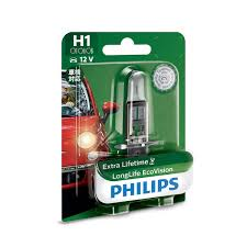 90654999 - <b>Philips</b> 12258LLECOB1 <b>H1 12V 55W</b> Longlife ...