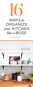 kitchen solution traditional closet:  ways to organize your kitchen whether youre dealing with cramped storage or