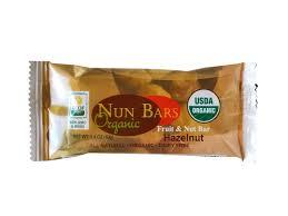 Organic Fruit & Nut Bar: Hazelnut | 6 Pack - Nun Bars