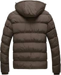 Sports & Outdoors Wantdo <b>Mens</b> Winter <b>Thicken Cotton Coat</b> Puffer ...