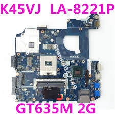 <b>K45VJ QCL40 LA 8221P GT635M</b> 2G Mainboard REV 1.0 For ASUS ...