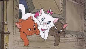 Resultado de imagen de los aristogatos los tres gatos