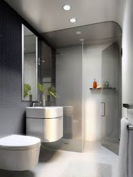 architecture bathroom toilet: contemporary bathrooms design in white theme with white floor tiles and black wall tiles combined