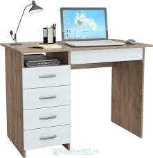 Купить <b>Письменный стол Мастер Милан</b>-01 дуб сонома/белый в ...